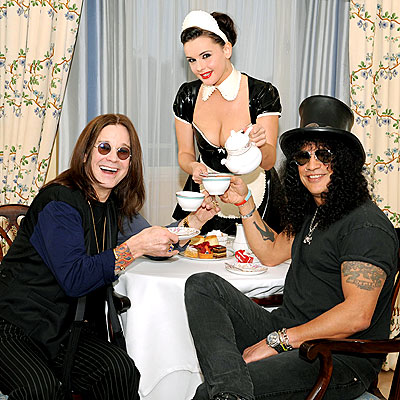 TEA TIME photo | Ozzy Osbourne, Slash