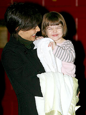 HAPPY-GO-LUCKY photo | Katie Holmes, Suri Cruise