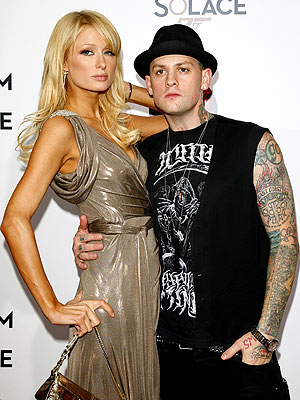 FREEZE FRAME photo | Benji Madden, Paris Hilton