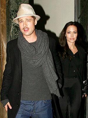LONDON CALLING photo | Angelina Jolie, Brad Pitt