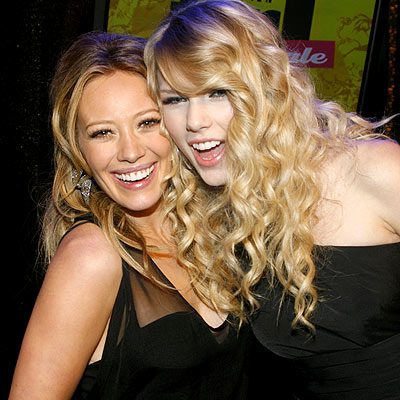 FINAL &#39;REQUEST&#39; photo | Hilary Duff, Taylor Swift