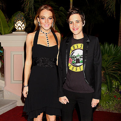 BLACK TIE AFFAIR photo | Lindsay Lohan, Samantha Ronson