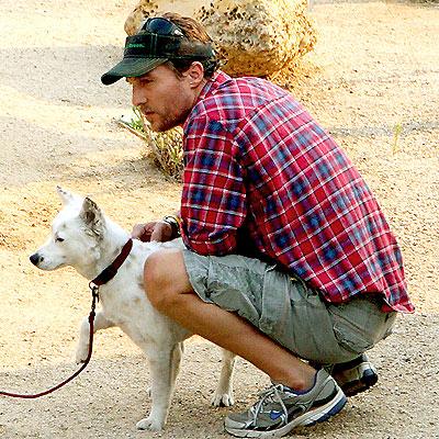 STAYING GROUNDED photo | Matthew McConaughey