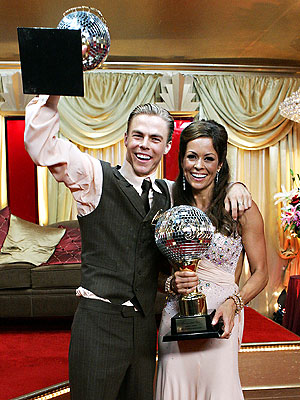 HAVING A BALL photo | Brooke Burke, Derek Hough