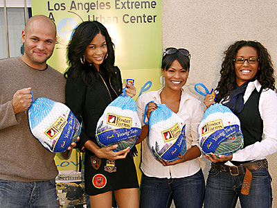 FEEDING FRENZY photo | Chanel Iman, Melanie Brown, Nia Long