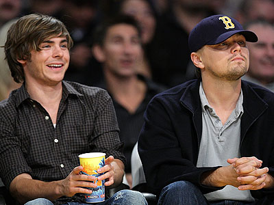 TEAM HEARTTHROB photo | Leonardo DiCaprio, Zac Efron