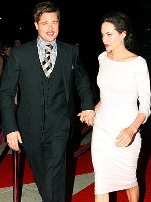 MOUSTACHE MAN  photo | Angelina Jolie, Brad Pitt