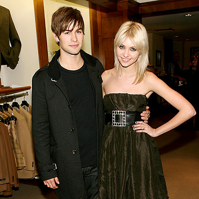 HAPPY REUNION photo | Chace Crawford, Taylor Momsen