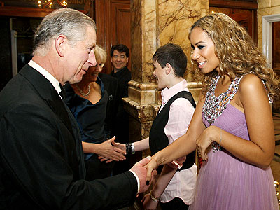 &#39;ROYAL&#39; PURPLE photo | Leona Lewis, Prince Charles
