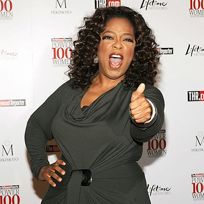 SIGN OF APPROVAL photo | Oprah Winfrey