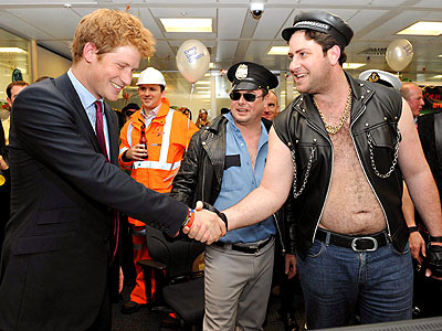 SHAKE ON IT photo | Prince Harry