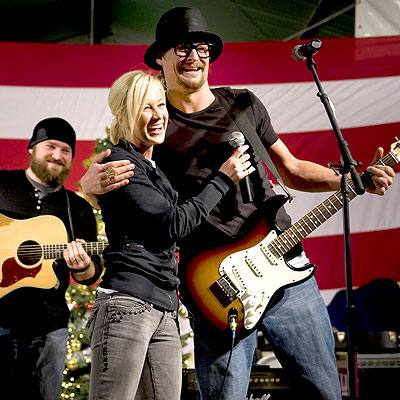 AMERICAN BANDSTAND photo | Kellie Pickler, Kid Rock