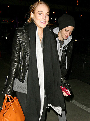 HAVE BAG, WILL TRAVEL photo | Lindsay Lohan, Samantha Ronson