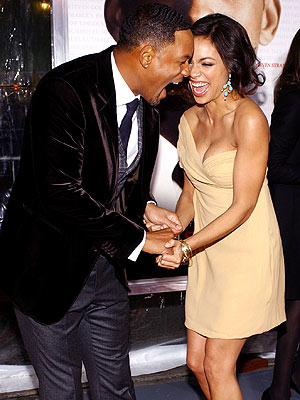 LUCKY 'SEVEN' photo | Rosario Dawson, Will Smith