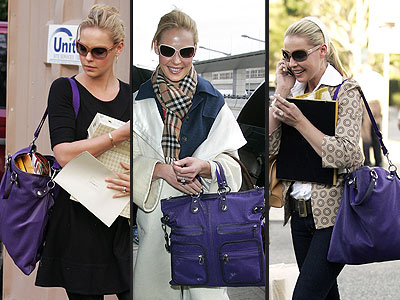HOGAN PURSE photo | Katherine Heigl