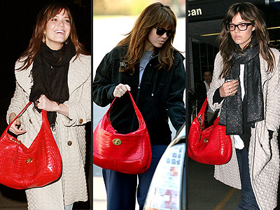 COACH PURSE  photo | Mandy Moore