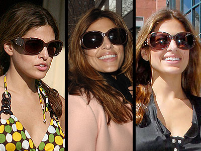 CHLO&#201; SUNGLASSES photo | Eva Mendes