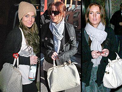 LOUIS VUITTON SPEEDY BAG photo | Lindsay Lohan