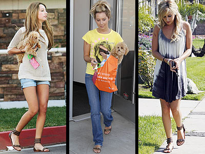 MATT BERNSON GLADIATOR SANDALS photo | Ashley Tisdale