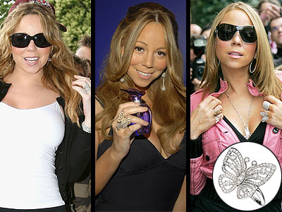 VAN CLEEF & ARPELS RING photo | Mariah Carey