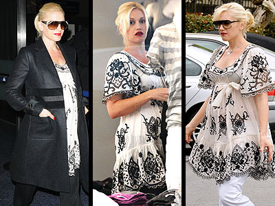 TEMPERLEY TUNIC photo | Gwen Stefani