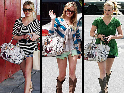 PRADA FAIRY BAG photo | Hilary Duff
