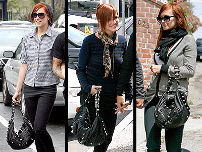THOMAS WYLDE BAG photo | Ashlee Simpson