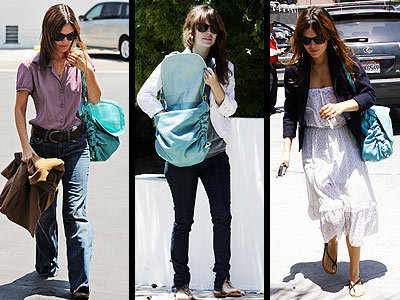 TOD'S MESSENGER BAG photo | Rachel Bilson