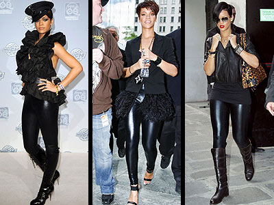 MEMBERS ONLY LEGGINGS photo | Rihanna
