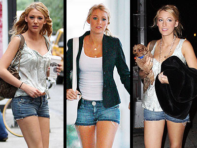 7 FOR ALL MANKIND SHORTS photo | Blake Lively