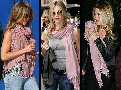MATTA SCARF photo | Jennifer Aniston