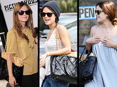 CHANEL TOTE photo | Rachel Bilson
