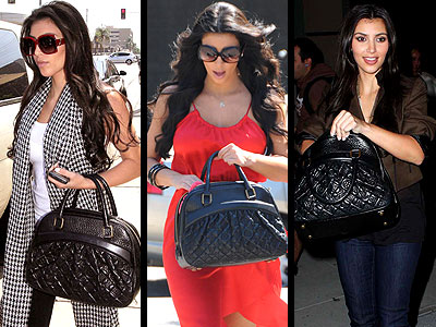LOUIS VUITTON BOWLER BAG photo | Kim Kardashian