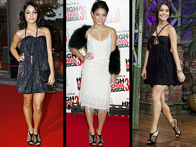 Vanessa Hudgens Miley Cyrus Fashion on Hv  Zda High School Musical  Here  Ka Vanessa Hudgens Se Do Sv  Ch