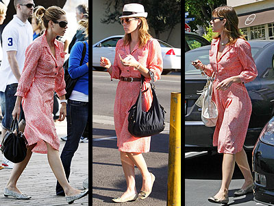 PATTERNED SHIRT DRESS  photo | Jessica Biel