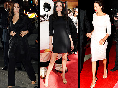 STUART WEITZMAN PUMPS  photo | Angelina Jolie