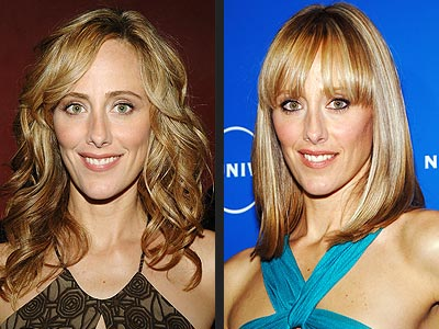 Kim Rave Fringe Hairstyles Kim Raver looks sexier in a hairstyle with bangs