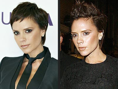How to make Victoria Beckham hairstyle