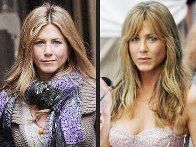 jennifer aniston bangs 2011