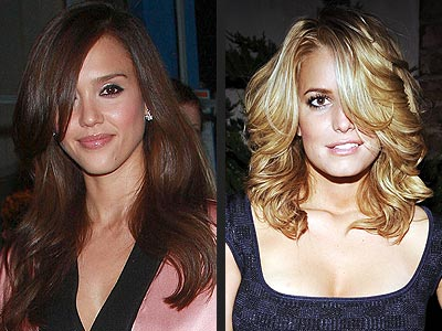 Jessica Alba Bangs Hair. BANGS photo | Jessica Alba