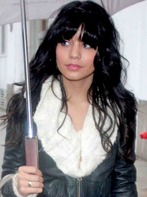 Vanessa Hudgens's New Bangs: Love 'Em or Hate 'Em?