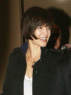 Short Hair Katie Holmes. Katie Holmes Goes Even Shorter
