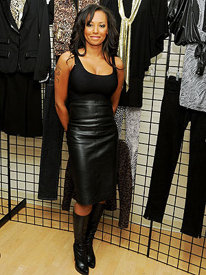 victoria beckham leather skirt. Victoria Beckham isn't the only Spice Girl to branch out into fashion.