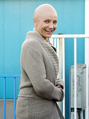 cameron diaz movies. Cameron Diaz has gone bald for