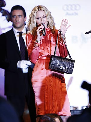 Madonna's $471,000 Chanel Bag: Worth More Than a Kiss from Clooney! - Off the Rack - StyleWatch - People.com