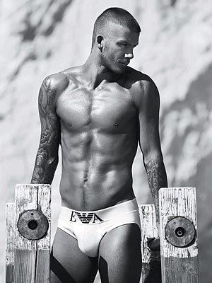 David Beckham Ad sexy hot picture 5