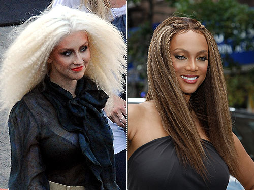 tyra banks hair colour. But when Tyra Banks hit the