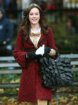 Leighton Meester Long Layered Hair style