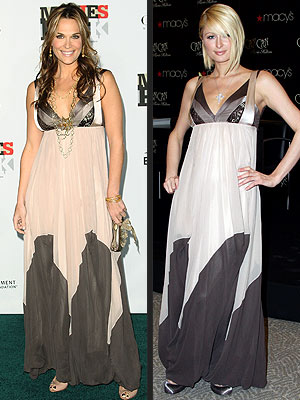 MOLLY VS. PARIS photo | Molly Sims, Paris Hilton
