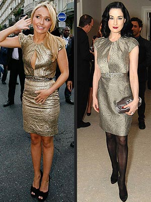 HAYDEN VS. DITA photo | Dita Von Teese, Hayden Panettiere